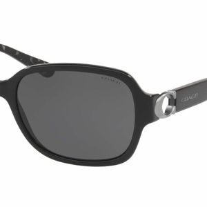 COACH HC8241 BLACK Sunglass **NEW** Never Worn